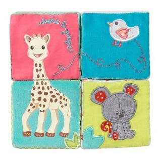 Vulli - 'Sophie la Girafe' Early Learning Fabric Cubes