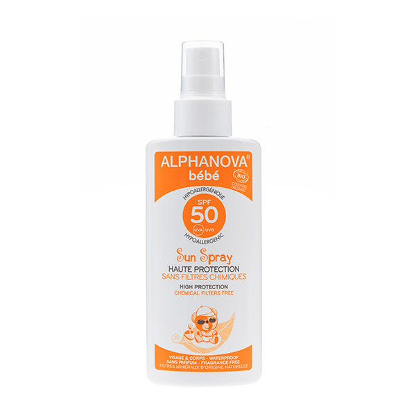 Alphanova - Spray solaire bebe SPF50 125ml