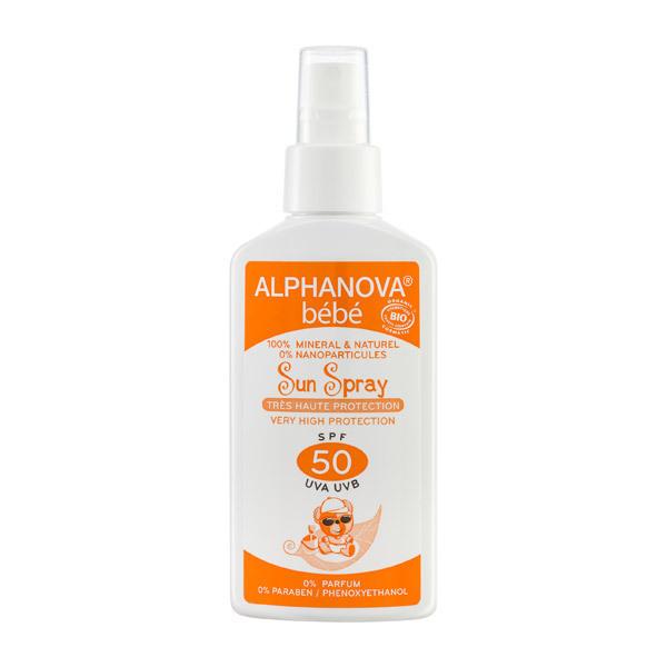 Alphanova - Baby spray Sunscreen SPF 50