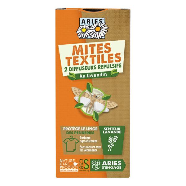 Aries - Diffuseurs Anti-mites textiles x 2