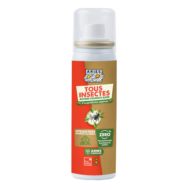 Aries - Spray insecticide action foudroyante 50ml