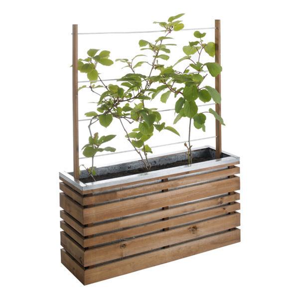 bac fleurs lign z treillis burger acheter sur. Black Bedroom Furniture Sets. Home Design Ideas