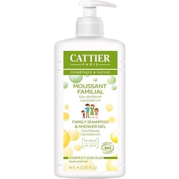 Cattier - Familien Duschgel & Shampoo 1L