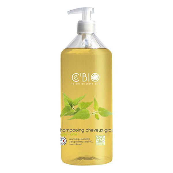 Ce'BIO - Shampooing cheveux gras Argile Ortie 500ml