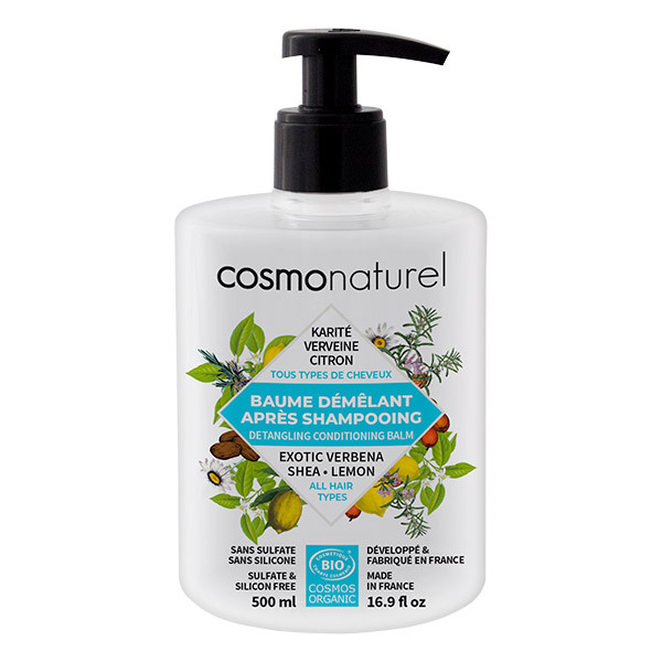 Cosmo Naturel - Baume démêlant après shampoing 500ml