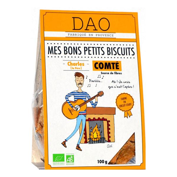 Dao - Biscuits apéro comté 100g