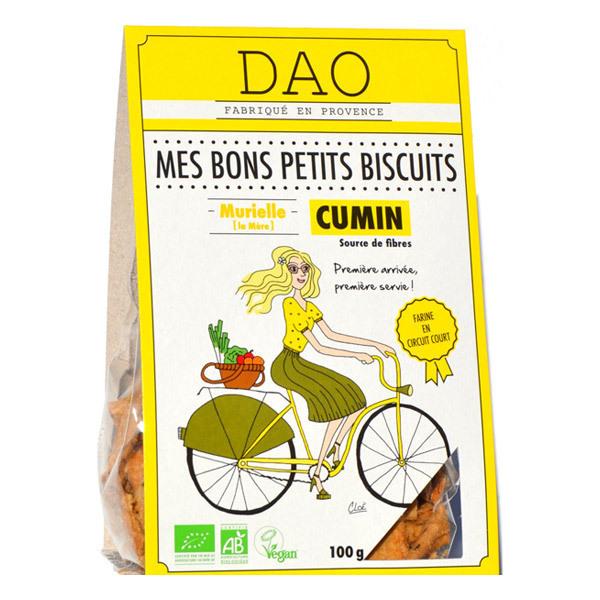 Dao - Biscuits apéro cumin 100g
