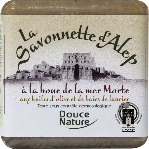 Douce Nature - Aleppo-Seife mit Totes Meer Schlamm 100 g