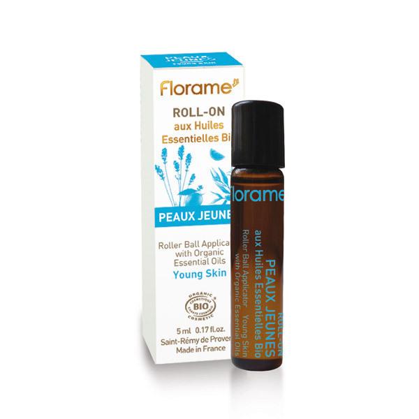 Florame - Roll-On PEAUX JEUNES Bio 5ml