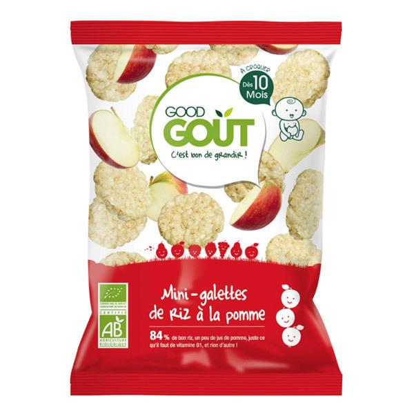 Good Gout - Mini-galettes de riz à la pomme, dès 10 mois