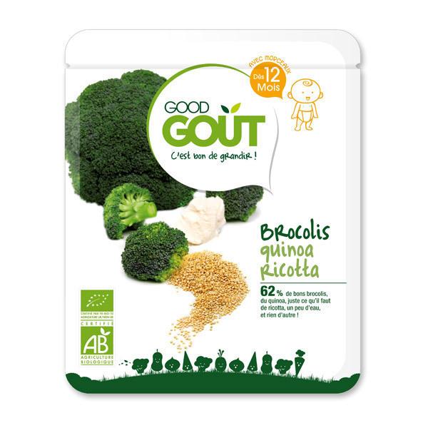 Good Gout - Plat Brocolis, quinoa et ricotta - 220g