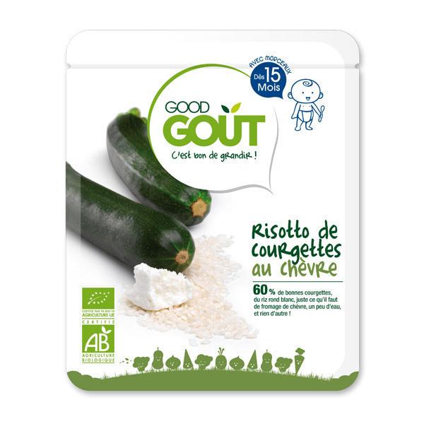 Good Gout - Risotto de courgette au chèvre - 220g