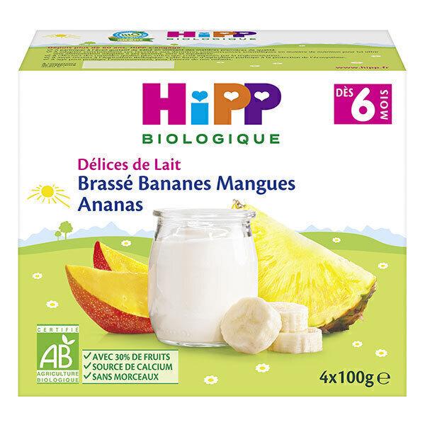 Hipp - Brassé Bananes Mangues Ananas 4 x 100 g