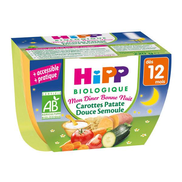 HiPP - Bol Hachis Parmentier à la Tomate dès 12 mois 190g