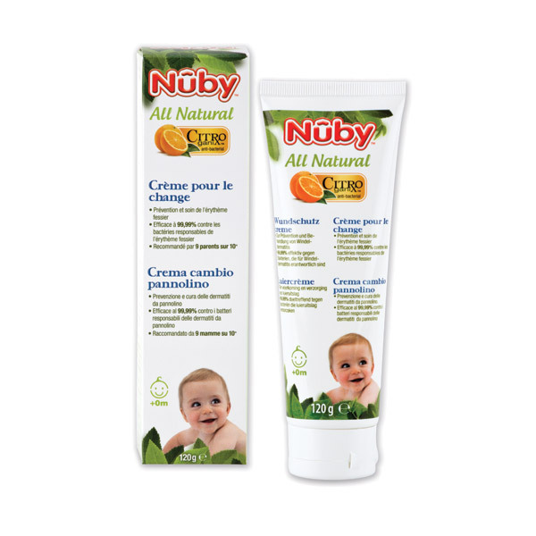 Nuby Citroganix™ - All Natural Nappy Rash Cream 120g
