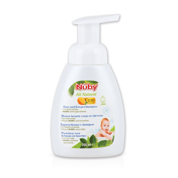 Nuby Citroganix™ - All Natural Foaming Shampoo & Body Wash 250ml