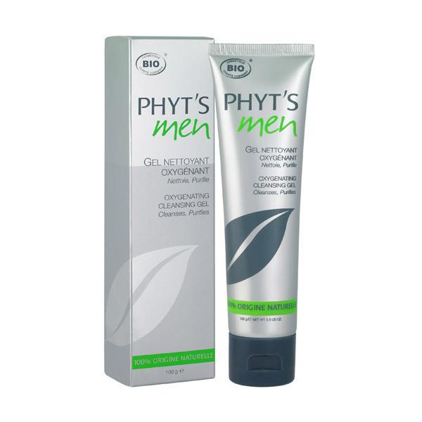 Phyt's - Gel nettoyant Oxygénant homme 100g