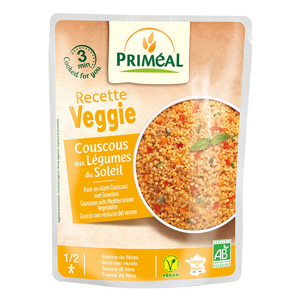 Priméal - Couscous aux légumes du soleil 220g