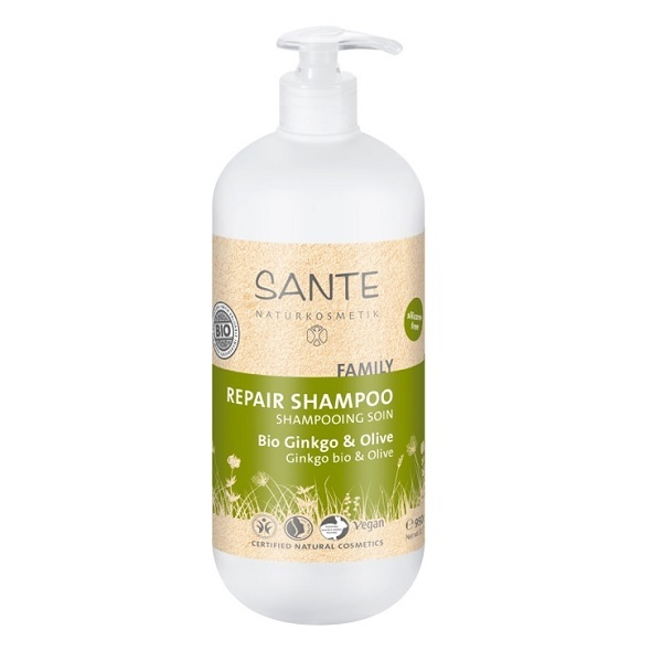 Santé - Shampooing Soin Ginkgo Olive 950ml