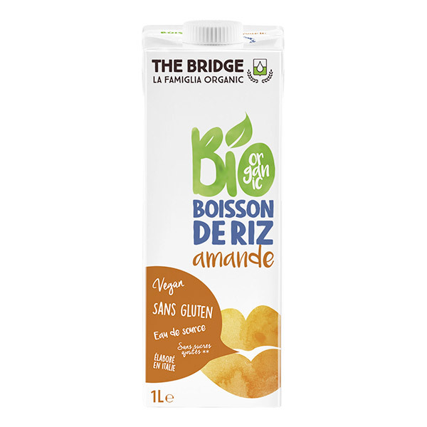 The Bridge - Boisson au riz Amande - 1L