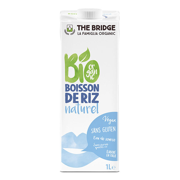 The Bridge - Boisson au riz nature - 1L