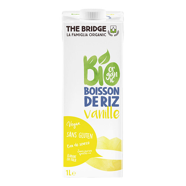 The Bridge - BIO RiceDrink + Vaniglia