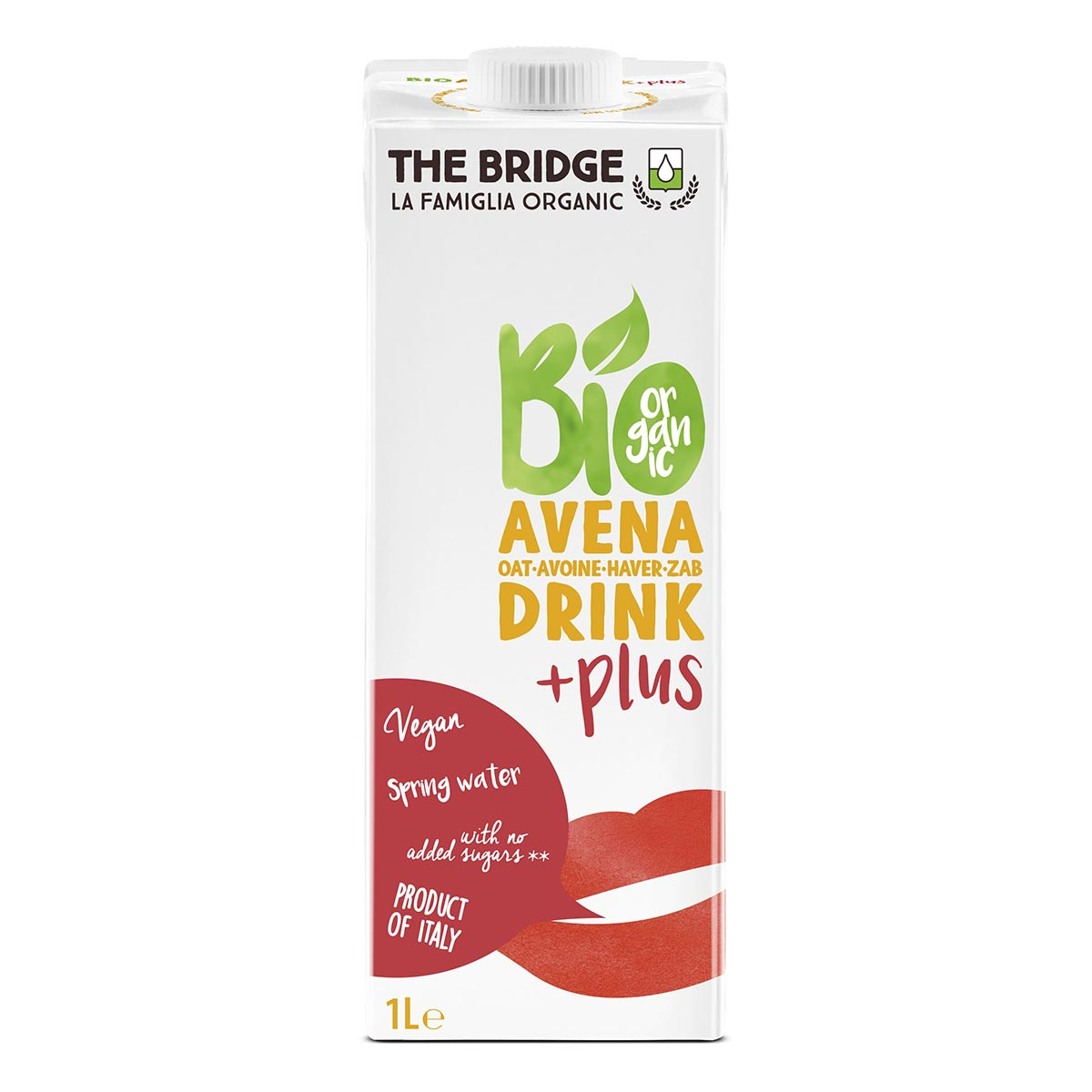 The Bridge - Boisson végétale avoine calcium - 1L