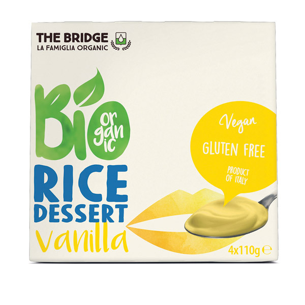 The Bridge - BIO RiceDessert Vaniglia - 4 x 110g