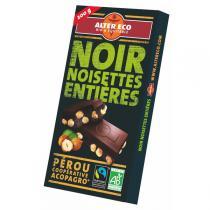 Alter éco - Chocolat Noir Noisettes Entières 200g
