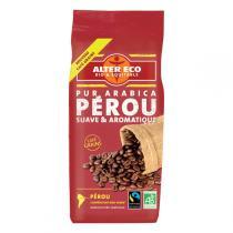 Alter éco - Café Bio Pérou 100% Arabica Grains 250g