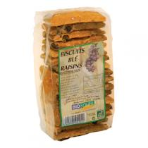 Bio Soleil - Wheat Biscuits with Raisins