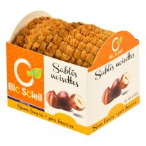 Bio Soleil - Grands Sablés Pure Butter Traditional Biscuits with Hazelnuts