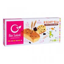 Bio Soleil - Keeny'Bio Fair Trade Chocolate Chip Cake x5