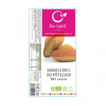 Bio Soleil - Spécialité de madeleines 100% sarrasin x8