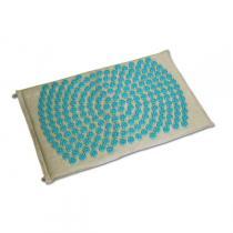 Bonnes idées Greenweez 24 - Tapis d'acupression Shantimat fleur de vie Turquoise
