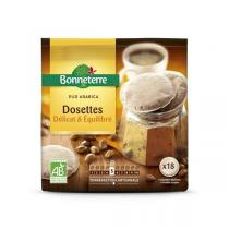 Bonneterre - Café Dosettes café Léger Pur Arabica 125g