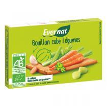 Evernat - Bouillon cube de Légumes 84g 8 cubes