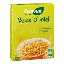 Evernat - Riz soufflé au miel, BZZZ'O'MIEL, 275g