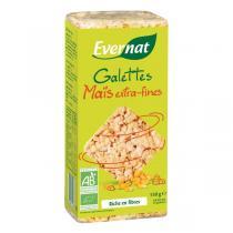 Evernat - Tortas de maíz extra finos 130g