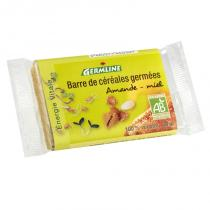 Germ'line - Barra de cereales germinados Almendra Miel 40g