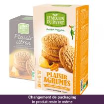 Le Moulin du Pivert - Plaisir Agrumes Citrus Biscuits 175g