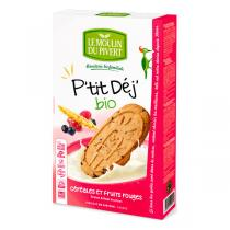 Le Moulin du Pivert - Breakfast Berry Biscuits 190g