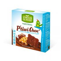Le Moulin du Pivert - P'tiwi Bio de Chocolate con leche 125g