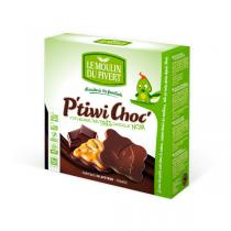 Le Moulin du Pivert - P'tiwi Dark Chocolate Biscuits 125g