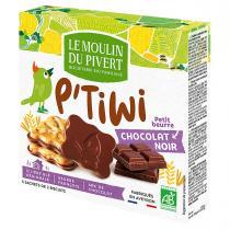 Le Moulin du Pivert - P'tiwi Bio Chocolate negro 125g