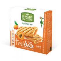 Le Moulin du Pivert - Twibio Apricot Filled Biscuits 150g