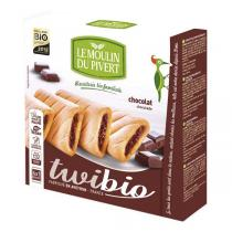 Le Moulin du Pivert - Twibio Chocolate filled Biscuits 150g