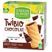 Le Moulin du Pivert - Twibio fourrés au Chocolat 150g