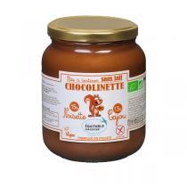 Noiseraie Productions - Pâte à tartiner Chocolinette noisette cajou sans lait - 700g