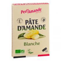Perlamande - Barres de pâte d'amande blanche x5 125 g